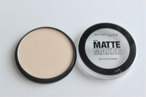 Maybelline New Matte Maker Mattifying Powder Review Swatch Swatches (2)
